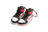 "Hand-Painted AJ 1 (I) Retro High OG - ""Black Toe/Valentine's Day"""