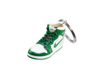 "Hand-Painted AJ 1 (I) Retro High OG - ""Green/White"""