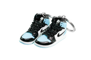 "Hand-Painted AJ 1 (I) Retro High OG - ""UNC Patent Leather"""