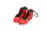 "Hand-Painted AJ 1 (I) Retro High - ""Gym Red"""