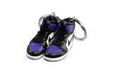 "Hand-Painted AJ 1 (I) Retro High OG - ""Court Purple"""