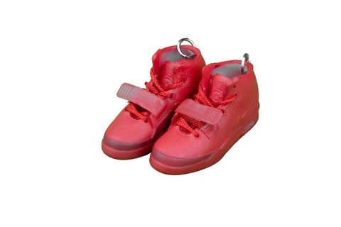 "Hand-Painted Air Yeezy 2 - ""Red October"""