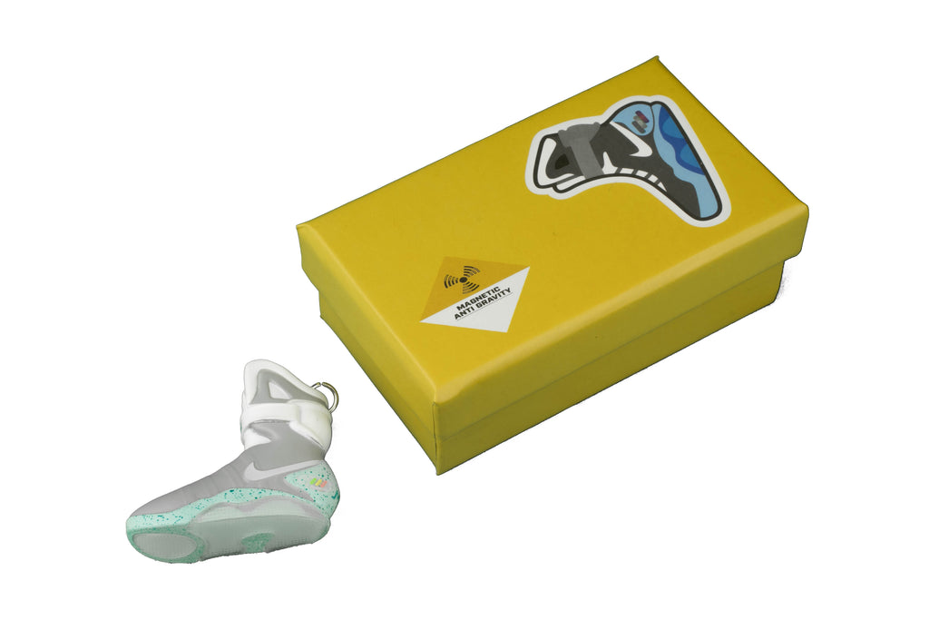 "Hand-Painted Air Mag - ""Back to the Future"""