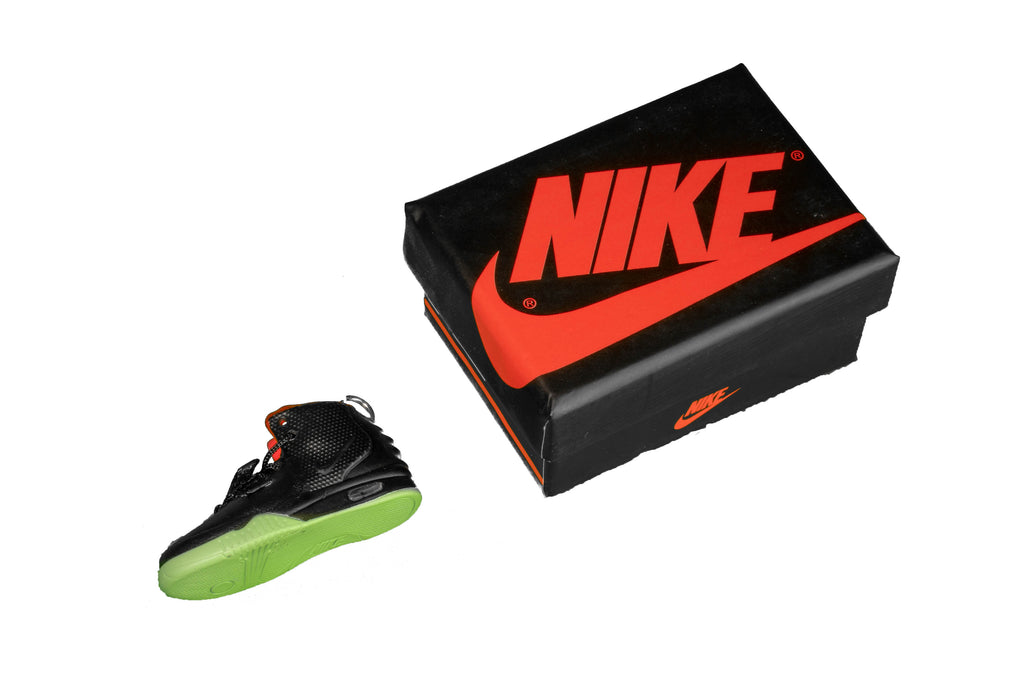 "Hand-Painted Air Yeezy 2 - ""Solar Red"""