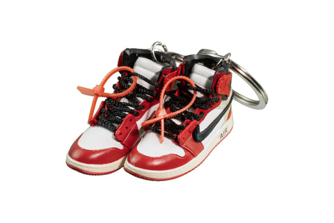 "Hand-Painted AJ 1 (I) x Off-White™ - ""Chicago"""