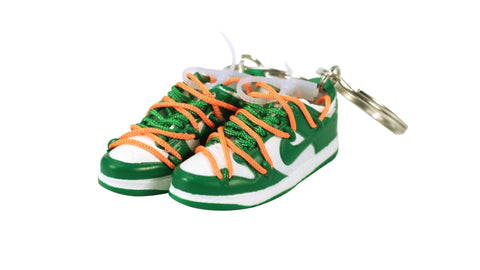 "Hand-Painted Dunk Low x Off-White™ - ""Pine Green"""