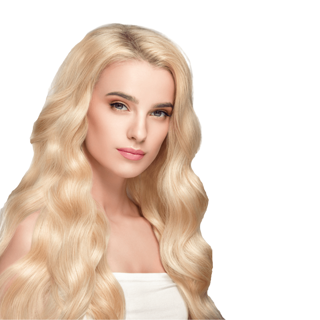 HUMAN HAIR BODY WAVE LACE FRONT WIG BLONDE