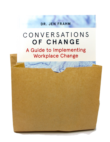 Conversation of Change - Secret brown paper copy!