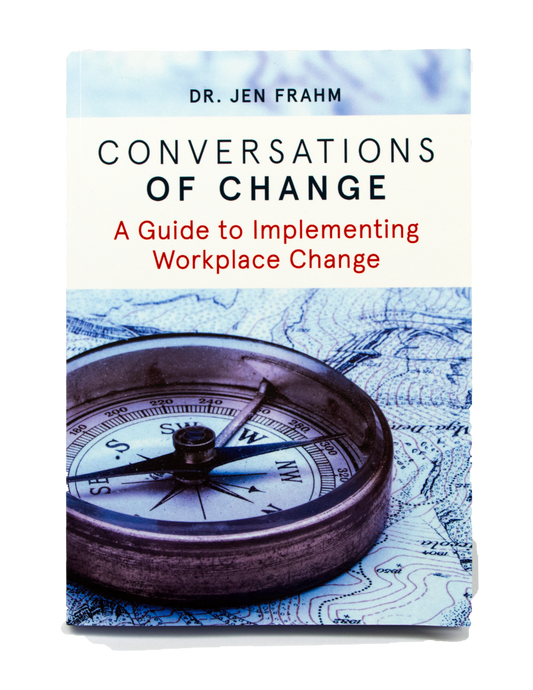Conversations of Change - signed copy