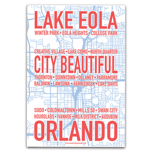 City Beautiful Map Poster