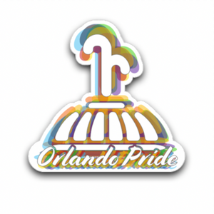 Eola Fountain Pride 2020 Sticker