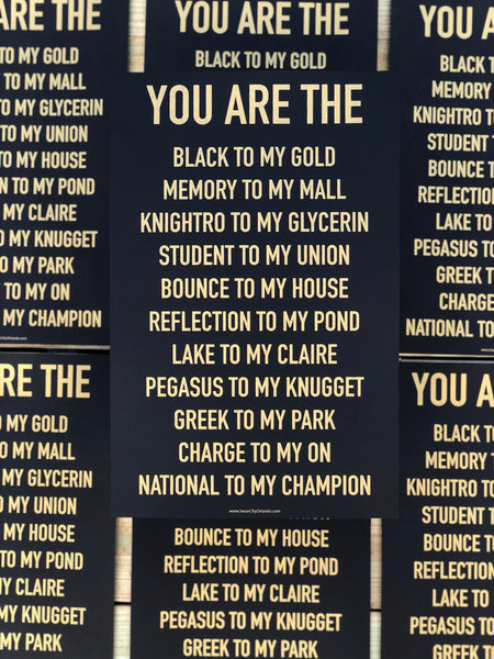 YOU ARE THE Poster - UCF