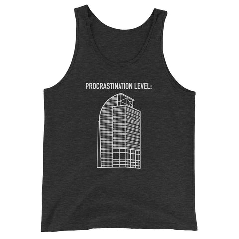 Unisex I4 Eyesore Procrastination Level Tank Top