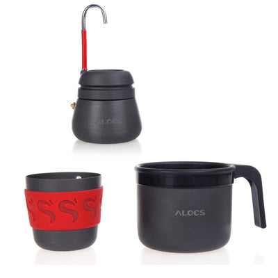Alocs Outdoor Coffee Stove Pot