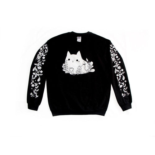 Ghost plant cat sweater