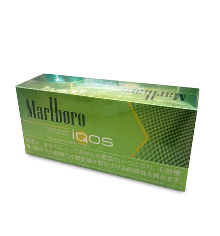 Marlboro Yellow Menthol Heatsticks - 1 Carton