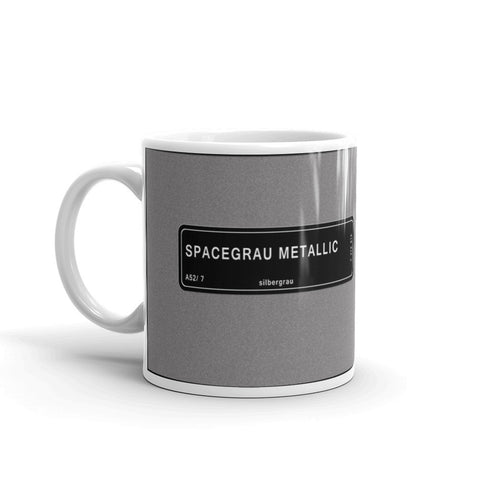 Space Grey Mug, Color Code A52