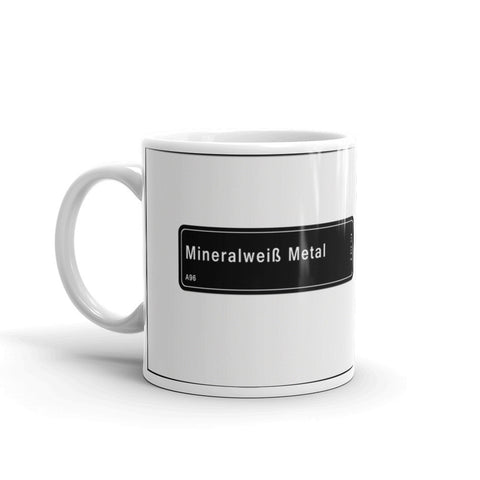 Mineral White Mug, Color Code A96