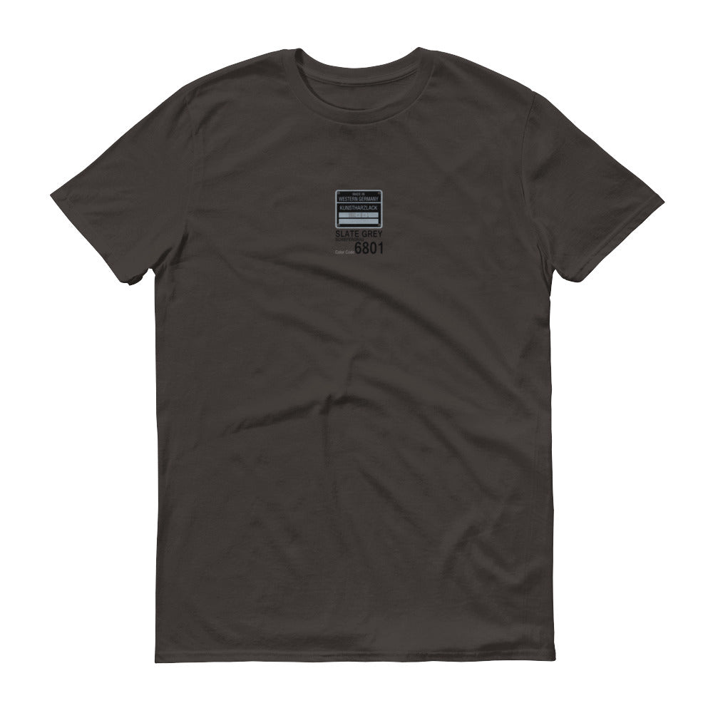 Slate Grey T-Shirt, Color Code 8601