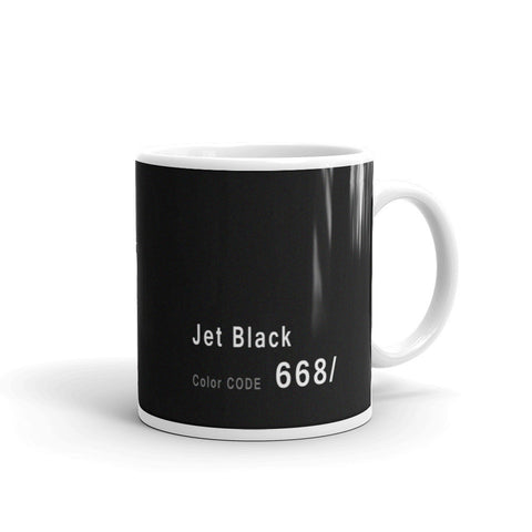 Jet Black Mug, BMW Color Code 668