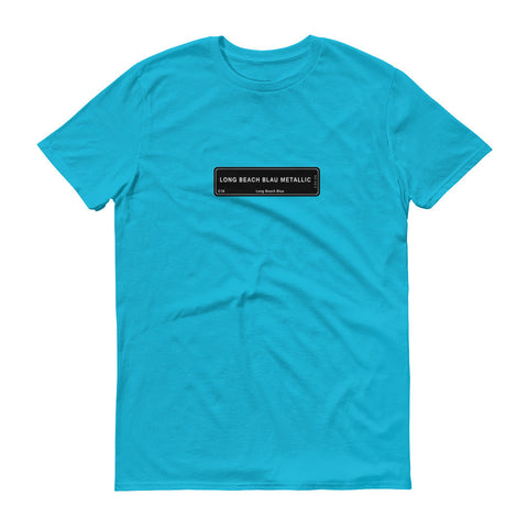 Long Beach Blue Shirt, Color Code C16