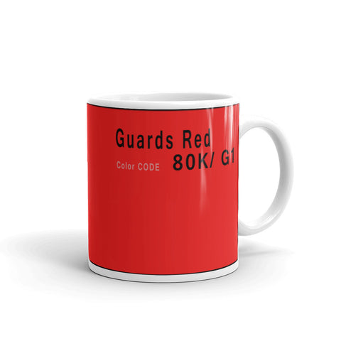 Guards Red Mug, Color Code 80K