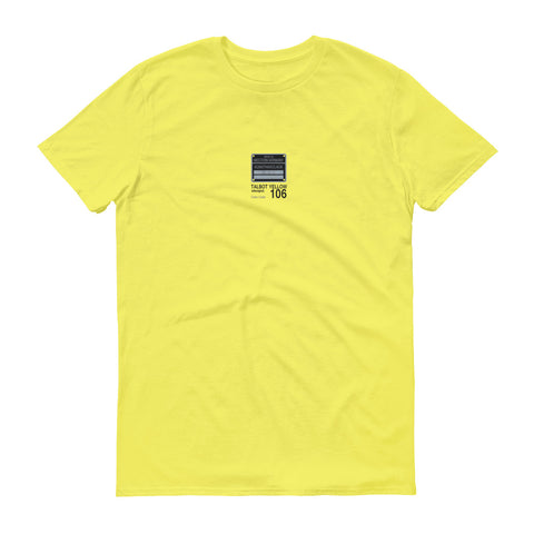 Talbot Yellow T-Shirt, Color Code 106