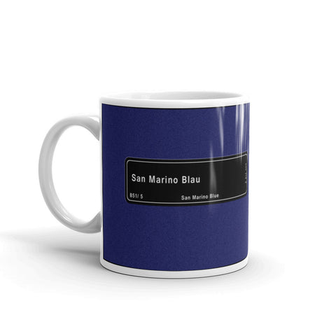 San Marino Blue Mug, Color Code B51