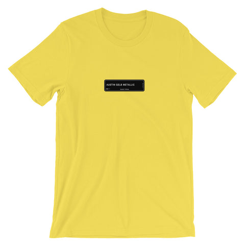Austin Yellow T-Shirt, Color Code 490