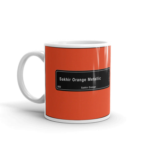 Sakhir Orange Mug, Color Code B50