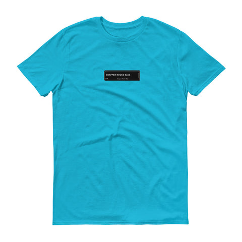 Snapper Rocks Blue T-Shirt, Color Code C1G