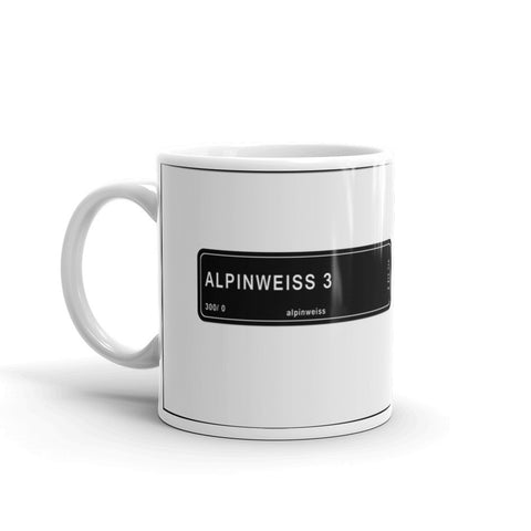 Alpine White Mug, Color Code 300