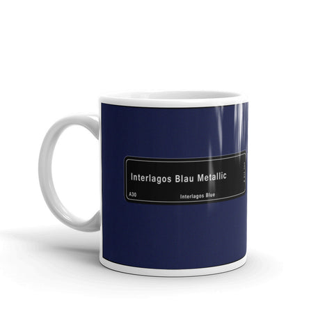 Interlagos Blue Mug, Color Code A30