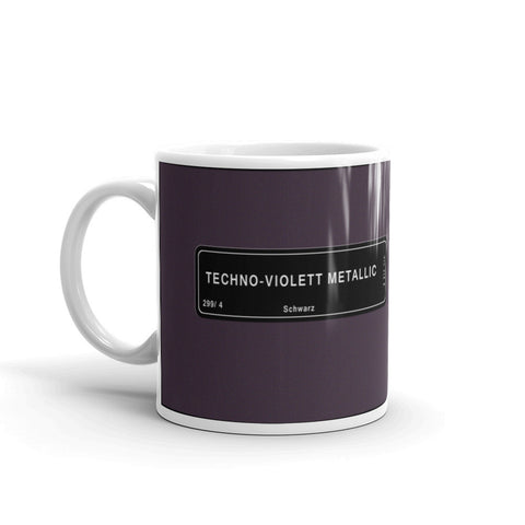 Technoviolet Mug, Color Code 299