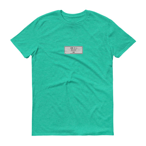 Mint Green T-Shirt, Color Code 22R