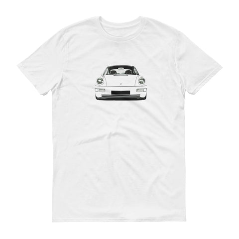 964 911 Artwork Front End T-Shirt Design