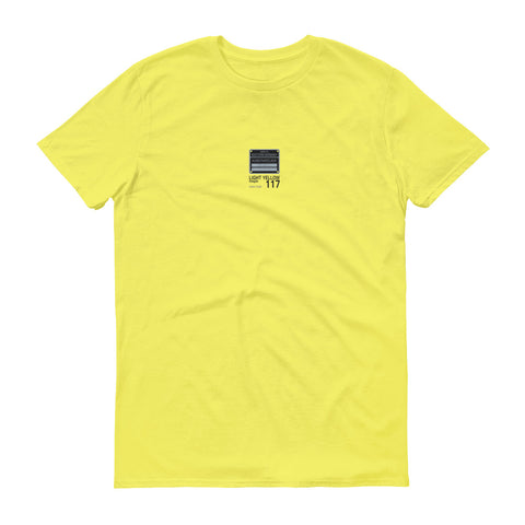 Light Yellow T-Shirt, Color Code 117