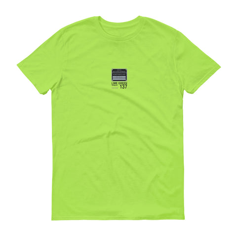 Lime Green T-Shirt, Color Code 137