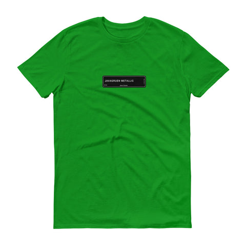 Java Green T-Shirt, Color Code W14