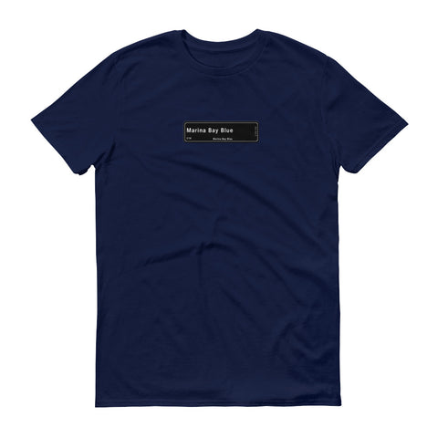 Marina Bay Blue T-Shirt, Color Code C1K