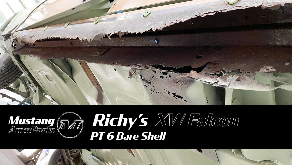 Richy's 1970 XW Ford Falcon Restoration - Pt 6