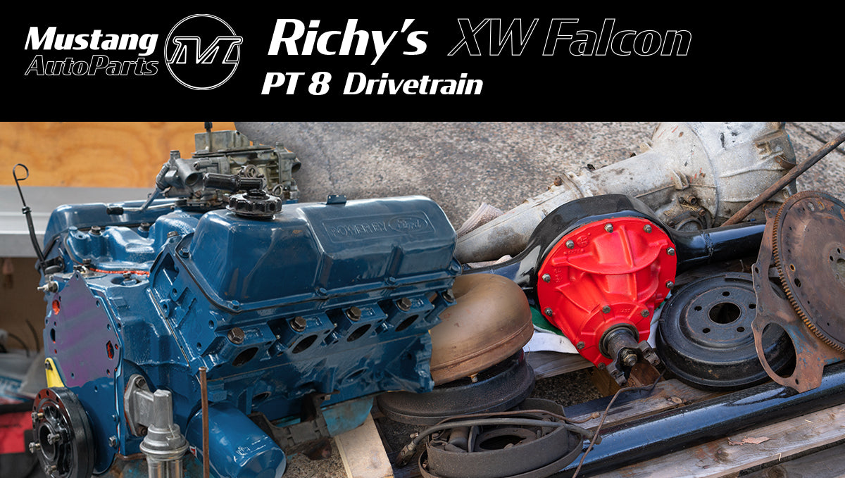 Richy's 1970 XW Ford Falcon Restoration - Pt 8