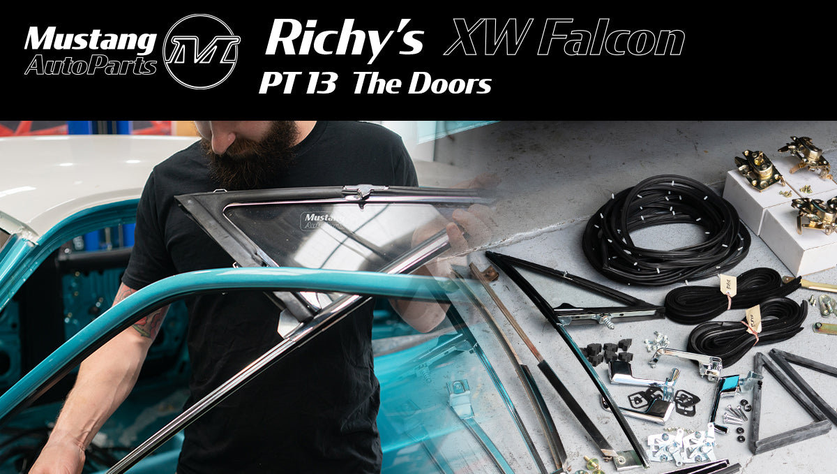 Richy's 1970 XW Ford Falcon Restoration - Pt 13 The Doors