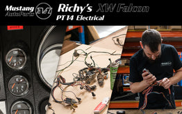 Richy's 1970 XW Ford Falcon Restoration - Pt 14 Electrical