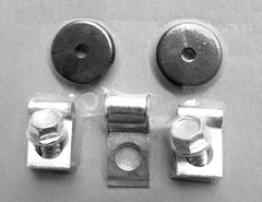 BRAKE CLIP & GROMMET KIT (ENGINE BAY) 1964-1967 (early)