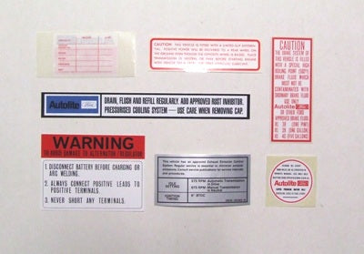 DECAL KIT XW 7 DECALS WINDSOR