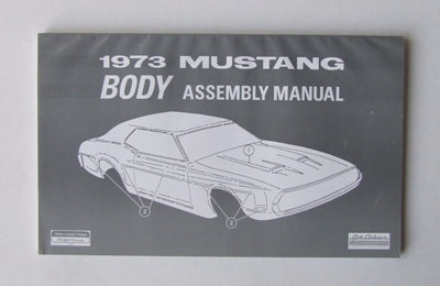 BODY ASSEMBLY MANUAL 1973
