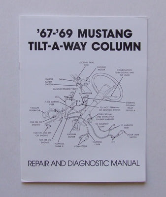 TILT COLUMN REPAIR MANUAL 1967-1969