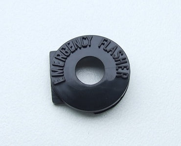 HAZARD KNOB BEZEL WITHOUT TILT STEERING 1967-1969