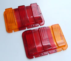 TAIL LIGHT LENS 1967-1968 WITH AMBER TURN LENS